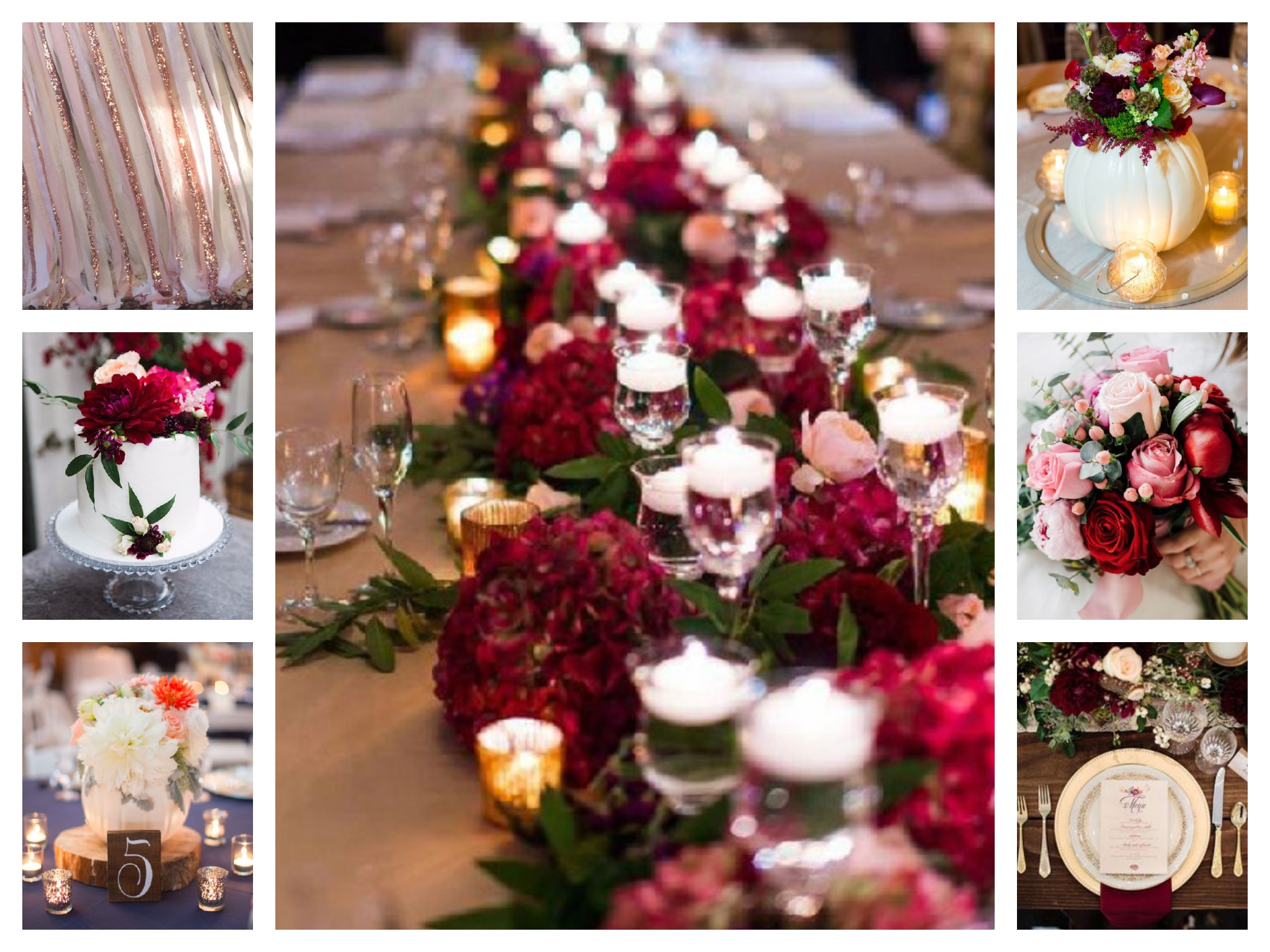moodboard mariage citouilles etc