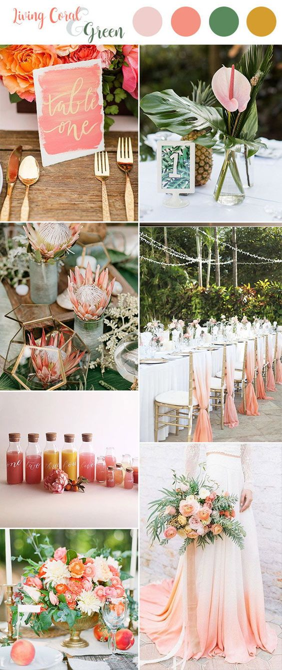 mariage living coral - stylish atelier