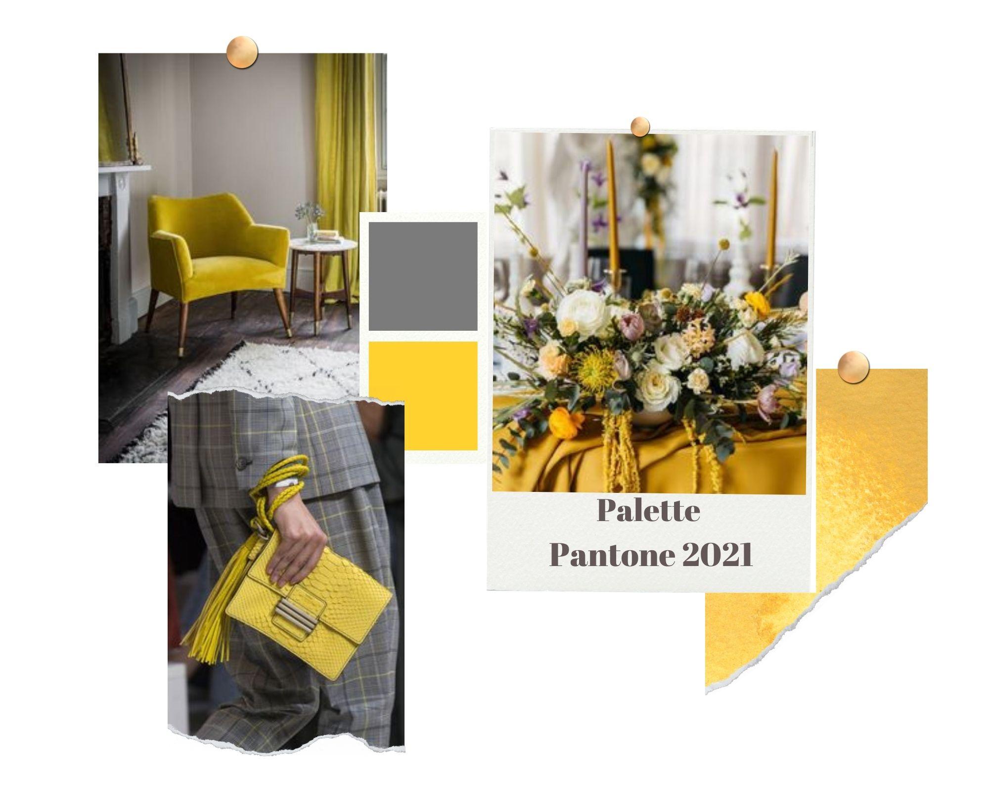 importance des couleurs - palette pantone 2021 - sanita styling
