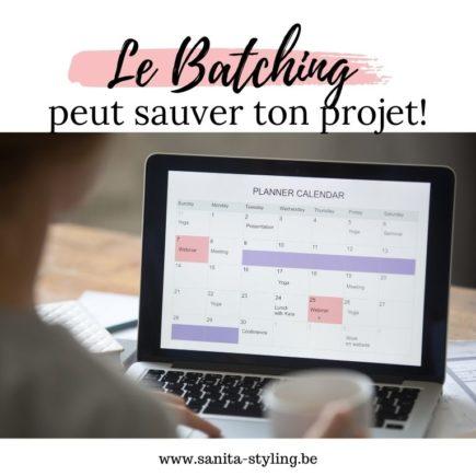 batching projet